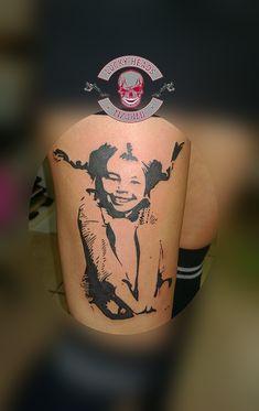 #pippilangstrumpf #pippitattoo #tattoo #ink #tattooitzehoe #luckyheadstattoo Pi Tattoo, Head Tattoos, Tattos, Watercolor Tattoo, Skull, Pippi Longstocking, Tattoos, Temp Tattoo, Skulls
