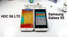 The First S6- HDC S6 LTE VS Samsung Galaxy S5  with Cheap Price Hands On...