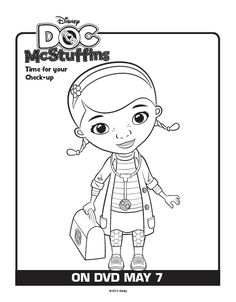 One Savvy Mom ™ | NYC Area Mom Blog: 9 Free Disney Doc McStuffins Printable Coloring Pages
