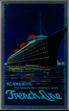 Normandie tourism poster for Chicago. logo Trafoi, Italy Travel Posters on the Boston Public LIbrary's Flick. Retro Poster, Art Deco Posters, Poster Ads, Vintage Travel Posters, Print Poster, Travel Ads, Travel Photos, Vintage Advertisements, Vintage Ads