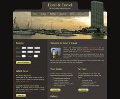 Hotel & Travel Website Template