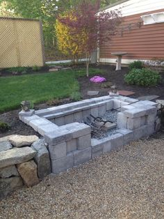 """Figure out even more relevant information on """"fire pit backyard ideas"""". Check out our site. Outdoor Fireplace Patio, Fire Pit Backyard, Backyard Patio, Backyard Landscaping, Backyard Ideas, Cool Fire Pits, Outside Living, Backyard Makeover, Outdoor Gardens"""