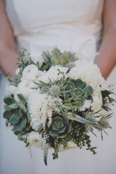 Succulent Bouquets x www.wisteria-avenue.co.uk