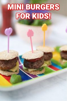 Have you ever bought a packet of meatballs, made a few for the kids then wondered what to do with the leftovers? If so then you need to try my Mini Burger hack! Let me show you how to make this really fun and easy lunch or dinner for kids! #miniburgers #burgersforkids #foodforkids Easy Family Meals, Healthy Meals For Kids, Dinners For Kids, Kids Meals, Lamb Burgers, Mini Burgers, Homemade Beef Burgers, Toddler Meals, Toddler Food