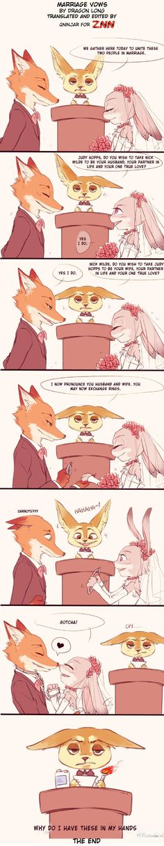 Comic: Marriage Vows (Original by 龙赢赢赢赢) (Translated by ZNN Translation Team)…