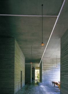 Viabizzuno | Candela Di Vals | Pendant light fitting by Peter Zumthor
