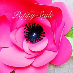 Svg paper flower cutting files diy paper flower templates flower diy large paper flower tutorial with templates rosette paper flower backdrop giant flowers svg cut files large paper flowers mightylinksfo Image collections