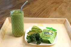 Greens Smoothie, low cal/low carb/high fat