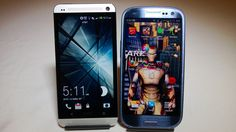 HTC One vs Samsung Galaxy S3 Which Is Faster Better Benchmark #attmobilereview
