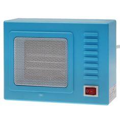 [USD8.73] [EUR8.10] [GBP6.26] Retro TV Style Warm Air Condition(Blue)