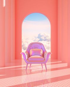 Home Decoration Inspiration Code: 7671961145 Home Design, 3d Design, Interior Design, Design Thinking, Pastel Room, Pastel Purple, Pink Blue, Design Package, Backgrounds Girly
