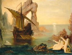 The Sirens by Gustave Moreau (1885) - セイレーン - Wikipedia