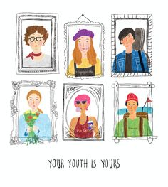 YOUR YOUTH IS YOURS - 디지털 아트 · 일러스트레이션, 디지털 아트, 일러스트레이션, 디지털 아트, 일러스트레이션