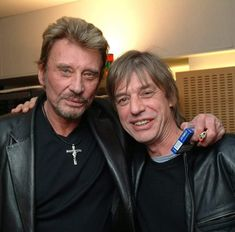 Johnny et Jean-Louis Aubert
