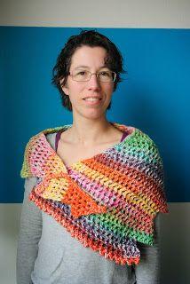 Renske Creatief: Gehaakte Wingspan sjaal is af!