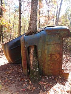 An abandoned truck in Providence State Park
