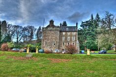Culcreuch Castle, Fintry, Stirlingshire, Scotland