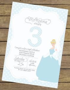 Personalized Disney Cinderella Inspired Silhouette Birthday ...