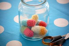 Greedy For Colour: A Crochet Pill Pattern - Use as Directed... but if symptoms persist, please see your Doctor.