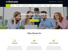 Businesso Premium Wordpress themes by ASIATHEMES on @Graphicsauthor