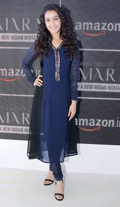 Shraddha Kapoor at the AIFW in Delhi. #Bollywood #Fashion #Style #Beauty