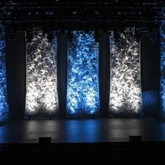 "https://flic.kr/p/ykUUfL | Mesh Columns and LED Stage Lighting | CUTTING EDGE - INDUSTRIAL TEXTURES:  ""MESH DRAPERY"". This aluminum mesh offers texture and depth, with a reflective quality that takes concert lighting beautifully.   Drapes with an edge!"