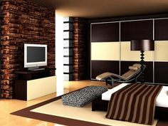 Hálószoba bútorok high- tech stílusban