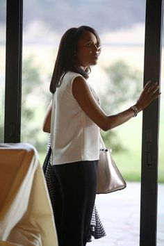 Olivia Pope after another romantic tryst with Fitz in episode, 'Vermont Is for Lovers, Too'  The memorable line?  'Don't sell the house yet.'