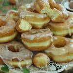 Oponki jogurtowe Top Recipes, Doughnuts, Sweet Treats, Good Food, Food And Drink, Ice Cream, Favorite Recipes, Lunch, Cookies