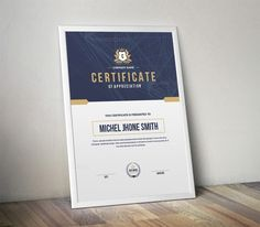 Features of Certificate Template - 3 Color Versions - Paper Size With Bleeds - Quick and easy to customize templates - Change Customize easily in MS WORD, Cv Design, Resume Design, Design Ideas, Graphic Design, Letterhead Template, Brochure Template, Certificate Design Template, You Better Work, Business Presentation