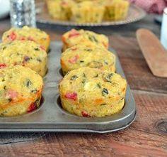 Muffins Déjeuner aux Œufs, Quinoa, Jambon et Légumes