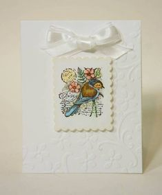 CAS37 Sympathy Sparrow by sleepyinseattle - Cards and Paper Crafts at Splitcoaststampers