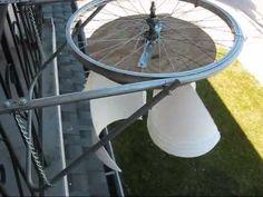 My VAWT (Vertical Axis Wind Turbine) - YouTube