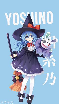 Korigengi — Anime Wallpaper HD Source: Date A Live Date A Live, Anime Witch, Moe Anime, Manga Anime, Anime Art, Anime Halloween, Happy Halloween, Wallpaper Animes, Animes Wallpapers