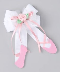 """<p+style='margin-bottom:0px;'>There's+nothing+that+a+pretty+hair+bow+can't+make+better.+This+little+treasure+easily+clips+onto+a+little+ballerina's+locks+for+all-day+fashion+flair.<p+style='margin-bottom:0px;'><li+style='margin-bottom:0px;'>3''+W<li+style='margin-bottom:0px;'>100%+polyester<li+style='margin-bottom:0px;'><span+style=""""font-size:+13px;+text-align:+-webkit-auto;"""">Made+in+USA<br+/>"""