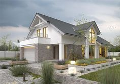 Z charakterem 1 Ethnic Home Decor, Modern Bungalow, Inside Outside, Dream House Plans, Design Case, Home Fashion, Floor Plans, House Styles, Building