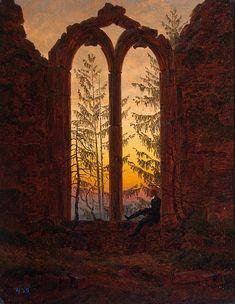 "I'm a Romantic.Caspar Friedrich, one of my favorite artist of 1800. ""Dreamer"" by Casper Friedrich"