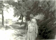 Taken from: http://paranormal.about.com/od/ghostphotosWhat do you think of this photo? My great-great grandma was dead at the time this picture of my great-great grandpa was taken.