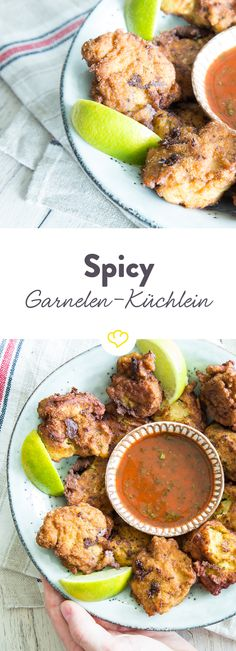 Aus Garnelen, Fischfilet und scharfer Currypaste wird im Handumdrehen ein krosses Küchlein, das zusammen mit einem einfachen Dip Asiafans  glücklich macht.