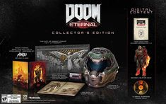 Shop DOOM Eternal Collector's Edition PlayStation 4 at Best Buy. Find low everyday prices and buy online for delivery or in-store pick-up. Playstation, Best Action Games, Doom 2016, First Person Shooter Games, Id Software, Doom Game, Glitch Deals, The Revenant, Fantasy Creatures