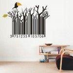 Creative Bar Code Wall Art Decor - PD142 - $16.99