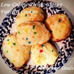 Low Calorie Funfetti Cookies