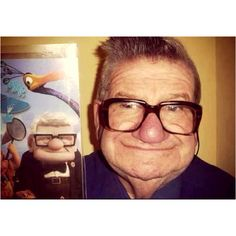 Up! Cutest old man ever!