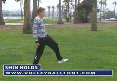 Volleyball Passing Drills, Dynamic Warm Up, Kick Backs, Swings, Squats, Superman, Push Up, Extensions, Squat