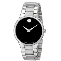 Shop a great selection of Movado Men's 0606382 Serio Stainless Steel Bracelet Watch. Find new offer and Similar products for Movado Men's 0606382 Serio Stainless Steel Bracelet Watch. Stainless Steel Watch, Stainless Steel Bracelet, Rolex Watches, Watches For Men, Luxury Watches, Black Quartz, Moon Necklace, Quartz Watch, Omega Watch