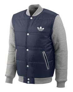 adidas Originals Mens Padded Removeable Sleeve Jacket