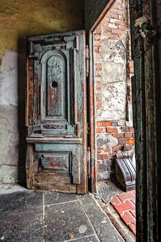 Old doors, rustic, old, decay, architechture, beauty, photograph, photo