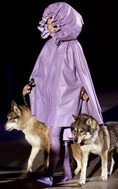 Alexander McQueen's Top Runway Moments - Fall 2002 from #InStyle