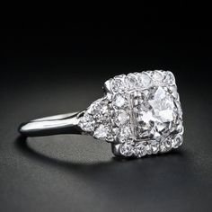 Vintage 1930's Engagement Ring. So amazingly beautiful!!
