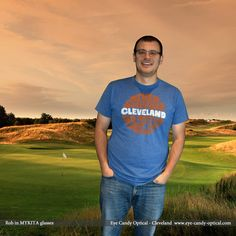 Rob in his new Mykita glasses is all about the game.  Just as in golf, at Eye Candy we never settle for Fashion PAR!  Be who you want to be at Eye Candy Optical! www.eye-candy-optical.com  (440) 250-9191